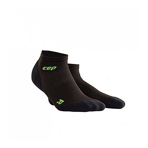 Paar Low Cut Sock (CEP Herren Ultralight Low Cut Socks Men Black/Green, IV)