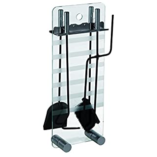 ALPERTEC Iron Companion Set with Glass Base, Set of 1, Black, 39060310