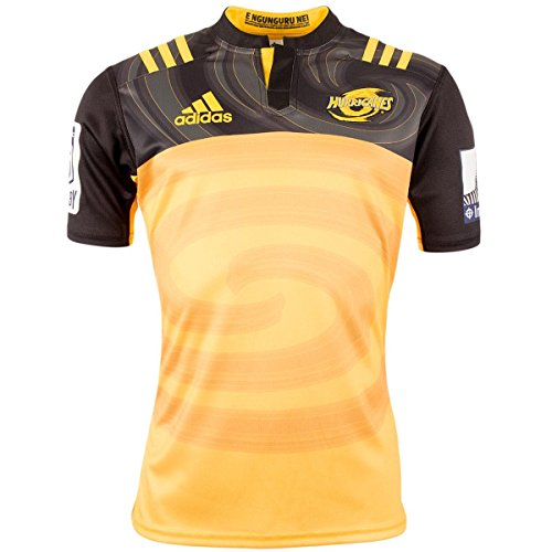 adidas Herren Wellington Hurricanes Auswärts/Rugby-trikot -