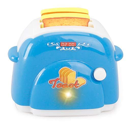 Wudi Kleine Haushaltsgeräte, Spielzeug, Haus-Simulations-Spiel (blau Brot-Maschine) 1 Pc