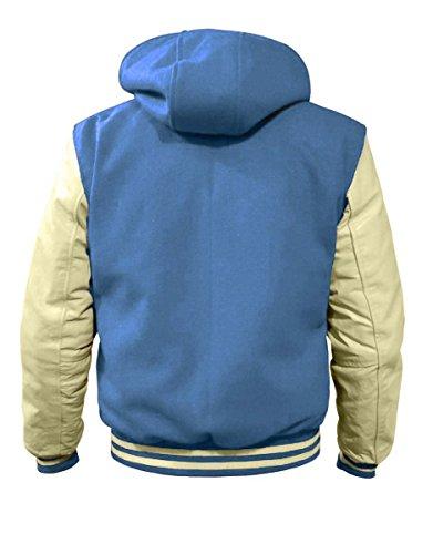 luvsecretlingerie - Blouson - Homme bleu clair