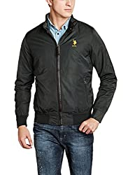 US Polo Mens Jacket (8907378415929_USJK1507_Large_Green)