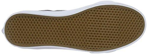 Vans Ua Sk8-Hi Slim, Sneakers Hautes Femme Gris (Metallic Dots)