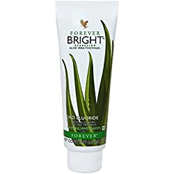 Forever Living Aloe Vera Bright Toothgel or Toothpaste with Natural Mint Flavor (130GM) By Forever Distibutor FLP