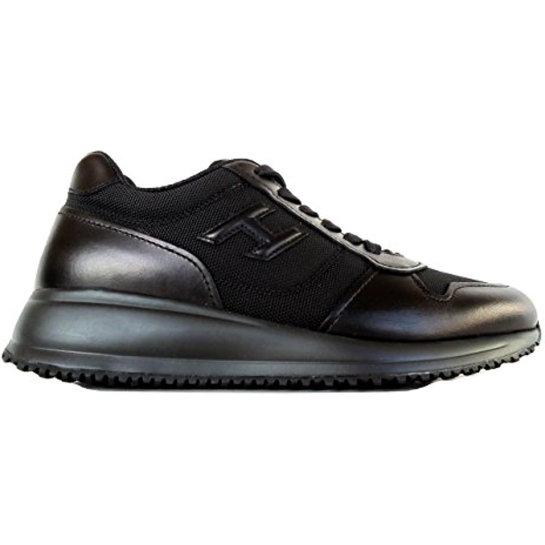 Hogan Scarpe Uomo Interactive N20 FD Sneaker H 3D + FD N20 Tes HXM2460Y800DMUB999 Nero n.41.5  Parent 88b6f2