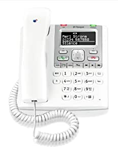 BT Paragon 550 Corded Telephone with Answer Machine - White