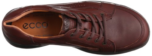 ECCO  Remote Leather Lace Up, chaussures homme Marron - Mink