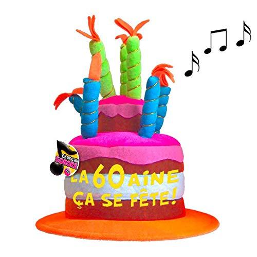 Les Trésors De Lily [Q5469 - Gorro cumpleaños Musical