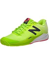 NEW balance96V3Hombre Zapatillas de tenis (Color Verde y Blanco), verde
