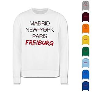 Städte - Weltstadt Freiburg - Herren Premium Pullover
