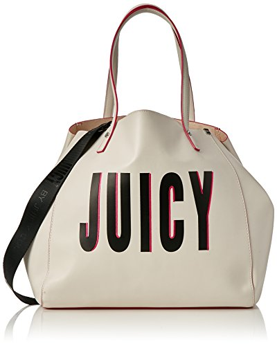Juicy by Juicy Couture - Arlington, Borse Tote Donna Bianco (White Juicy Print)