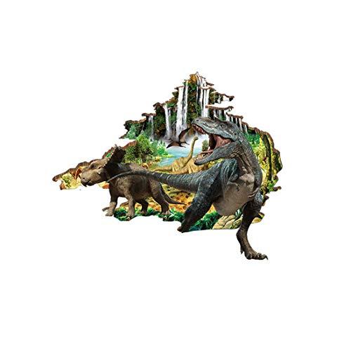 ihnachts-Dekoration für Halloween 3D-Paste Aufkleber (Dinosaurier)/Stereo/Boden/Kreativ/Kinderzimmer/Schlafzimmer/Deko/Wand/Aufkleber/Einfügen (60 * 90 cm) ()