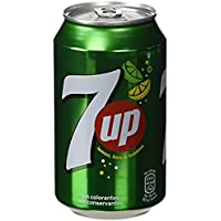 7UP 330ML CANS PK24 3388