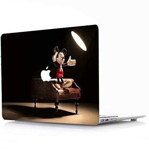 41pkRlWAFcL - AQYLQ Funda Dura para MacBook Air 13 Pulgadas (A1369 / A1466), Ultra Delgado Carcasa Rígida Protector de Plástico Cubierta - Disney Mickey