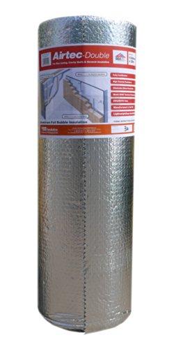 Airtec Double Luftpolsterfolie, mehrlagig, 1050mmx25mx3,7mm