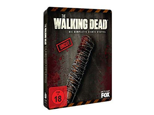 Produktbild The Walking Dead Staffel 7 - Erstauflage im geprägtem Steelbook (Lucille Fan Edition) - Blu-ray