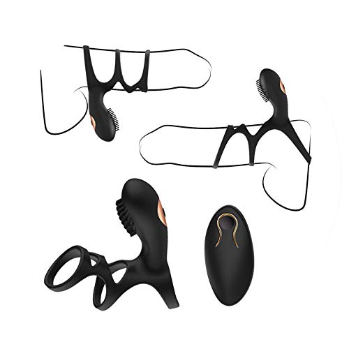 Adult Fidget Toys Spike Erotic Remote Control Vibrating ring Vibrator 10 Modes We Share Vibe Ring Stimulator