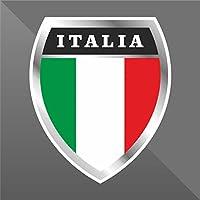 cm 10 Decal Cars Motorcycles Helmet Wall Camper Bike Adesivo Adhesive Autocollant Pegatina Aufkleber Sticker Polizia di Stato Italia Italy Italie Italien