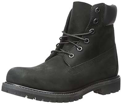 Timberland Damen 6 6in Premium Boot-W Kurzschaft Stiefel, Schwarz (Black Waterbuck), 39 EU