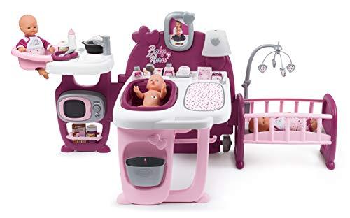 Smoby Baby Nurse Centro Gioco per Bambole 23 Accessori Colore 7600220349
