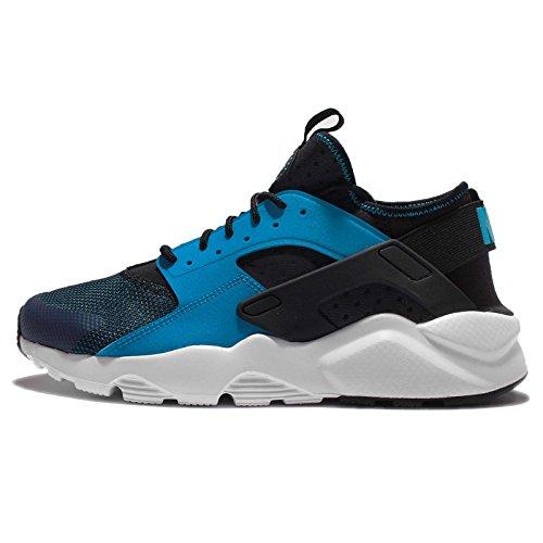 Nike Herren Air Huarache Run Ultra Laufschuhe, Grau, 9,5 UK / 44,5 EU / 10,5 US Blau (Blue Lagoon / White-Black)