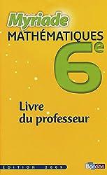 Myriade 6e  Livre du professeur
