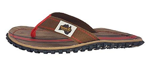 Schuhe Blau Damen Gumbies Rosa Woody Zehentrenner in Übergrößen c1O7W87