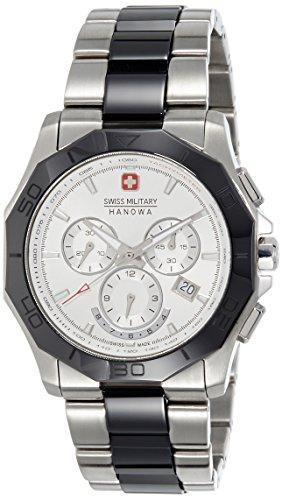 41pkYbiWXpL - Swiss Military Silver Mens SM10106JSN/04M watch
