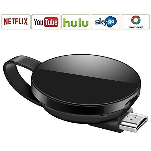 Dongle inalámbrico con Pantalla WiFi, Soporte del Sistema Android para Google Chrome, Adaptador de Receptor de TV Digital HDMI 1080P, TV Stick Miracast Airplay para Android / Mac / iPhone