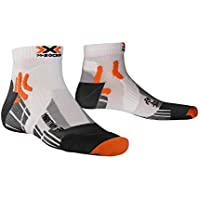 X-Socks Marathon Run - Calcetines unisex para deporte white/black Talla:45-47