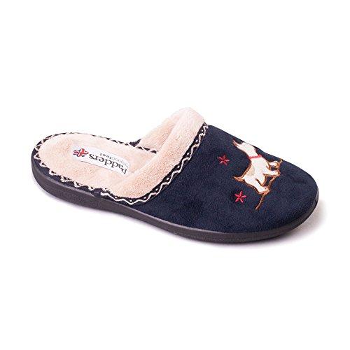 scarpe da donna Padders 'Scotty'   Extra grande larghezza di EE   20 millimetri tallone   calzascarpe libero Marina Militare