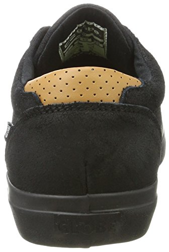 Globe Willow, Chaussures de Skateboard Homme Multicolore (Black/Black)