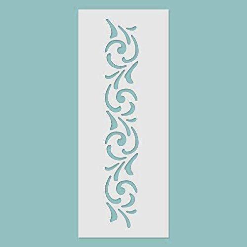 3D Schablone - Bordüre Nr. 01 Schablon, Stencil