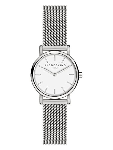 LIEBESKIND BERLIN Damen Analog Quarz Smart Watch Armbanduhr mit Edelstahl Armband