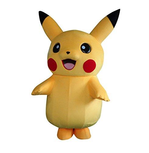 u Pokemon Erwachsene Halloween Maskottchen Kostüm Kleid Outfit (Pokemon Maskottchen Kostüm)