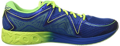 Asics T722n4507, Chaussures de Running Entrainement Homme Multicolore (Imperial/safety Yellow/green Gecko)
