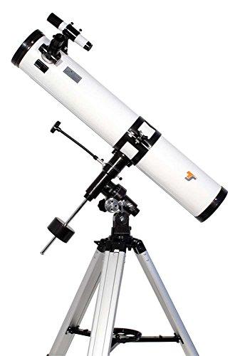 TS-Optics Teleskop N 114/900 EQ-3-1 XXL Komplettausstattung für Einsteiger Inclusive Mondfilter, Starscope1149