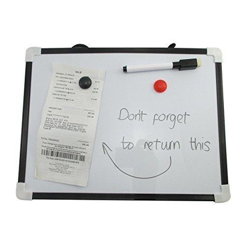 Mini-Whiteboard, A4, magnetisch, mit Stift und Radierer, trocken abwischbar