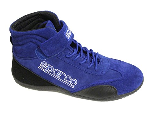 sparco-00127011a-race-competition-shoes-blue-size-11-by-sparco