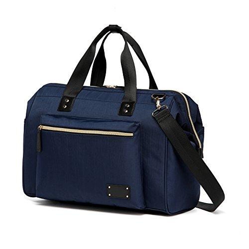 Preisvergleich Produktbild Wickeltasche mit Bonus Wickelauflage Wickeltasche Tote Taschen Dunkelblau Mummy Wickeltasche Handtaschen Messenger Bag earthsave