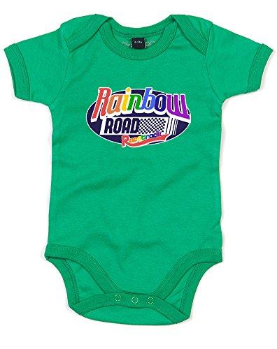edruckt Baby Strampler - Grün 6-12 Monate ()