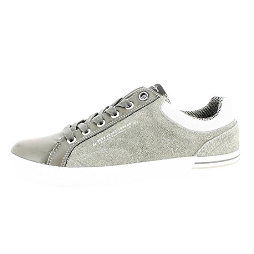 Pepe Jeans North Mix, Sneakers Basses Homme Gris (Dapple)