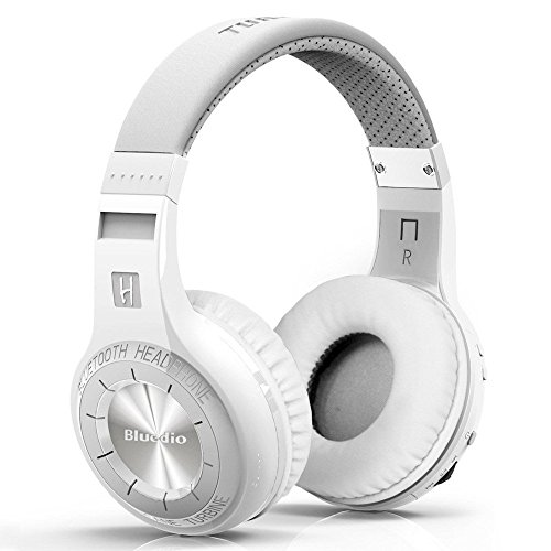 Bluedio H+ (Turbine Plus) Bluetooth On-Ear Kopfhörer, weiß