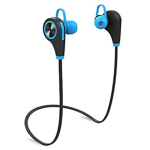 Ecouteurs Sport sans Fil, Lemego Oreillette Bluetooth V4.1 Casque sans