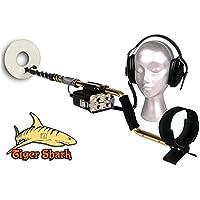 Metal Detector Tesoro Tiger Shark 10 sumergible búsqueda Oro Monedas metales ·