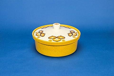 Porcelain Attractive Kalabar TUREEN Palissy Buff Dish Vintage 1970s English LS