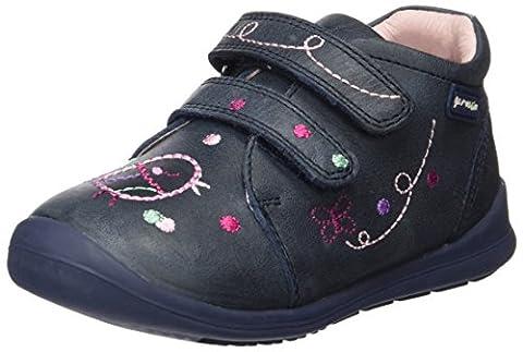 Garvalin Mädchen 161314A Kurzschaft Stiefel, Blau (Azul Marino), 23 EU