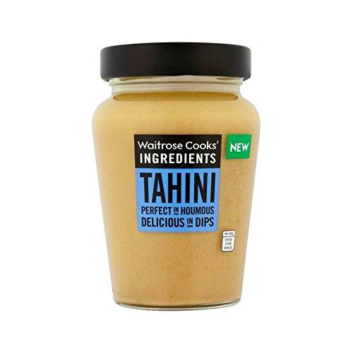 Ingrédients Tahini Waitrose De 300G De Cuisiniers