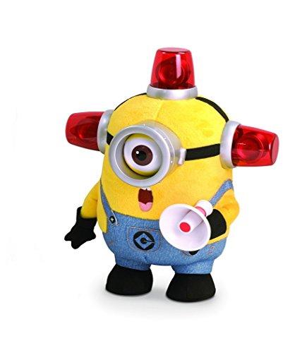 Mondo Thinkway Toys MTW 25177 - Original Minions - Bee-Do Fireman Carl Funktionsplüsch