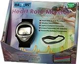 Maxxus Herzfrequenz-Uhr mit Sende-Brustgurt, Herzfrequenz, Gurt Pulsuhr, Gurt,Analyse
